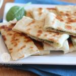 Gozleme : Galette turque au fromage et épinard