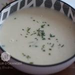 Soupe aux pommes de terre et poireaux