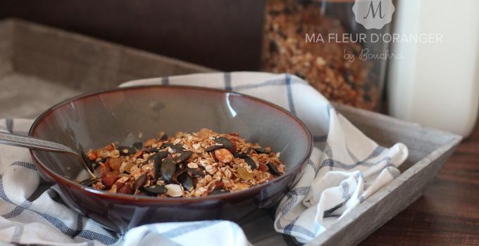 Granola maison savoureux et healthy !