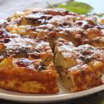 Tortilla au four aux pommes de terre et légumes !