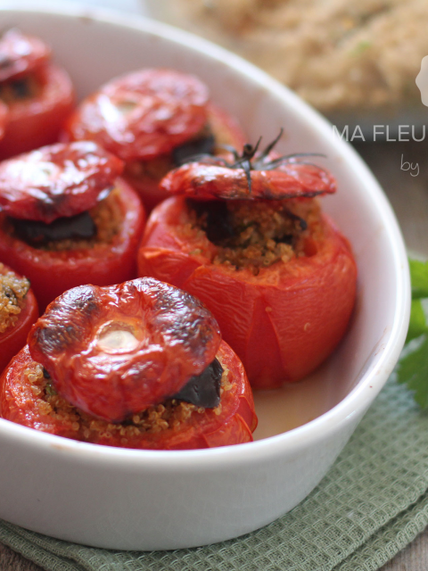 Tomates surprise au quinoa