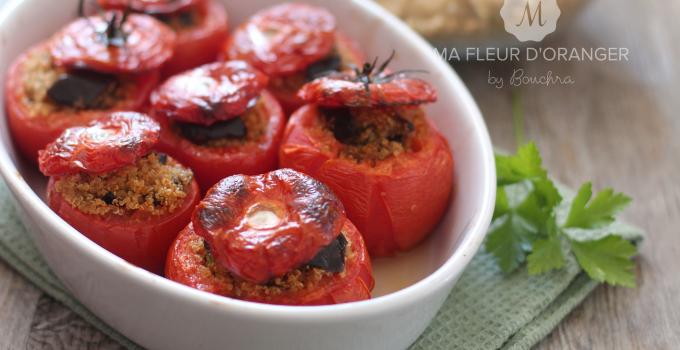 Tomates surprise au quinoa