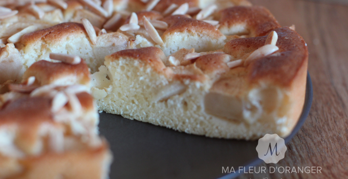 Gâteau aux pommes sans matière grasse !