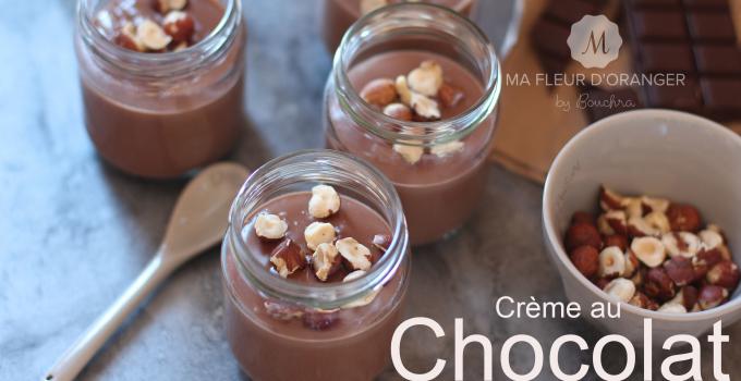 Crème au chocolat façon Danettes