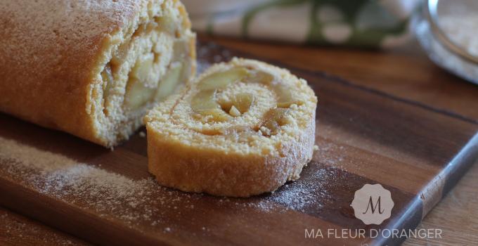 Biscuit roulé aux pommes