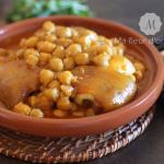 Pied de veau à la marocaine !