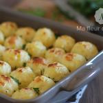 Gratin aux boulettes de pommes de terre