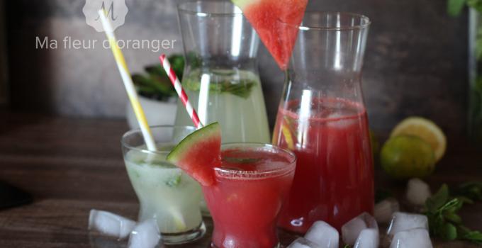 Limonades fraîches pour l'été