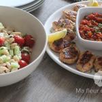 Repas estival avec des recettes faciles et légères !