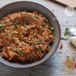 Zaalouk : Dip d'aubergine à la marocaine