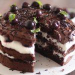 Gâteau façon forêt noire sans beurre ou crème !
