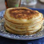 Pancake au lait fermenté (lben)