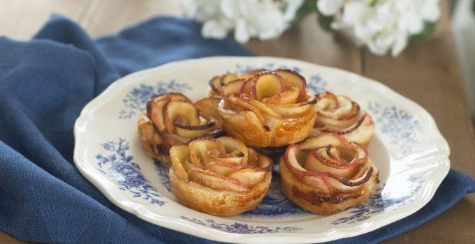 Tartelette roses aux pommes