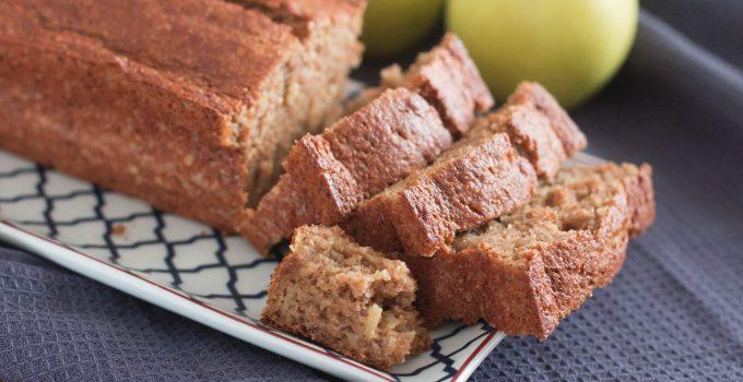 Gâteau aux pommes à la farine complète sans beurre !