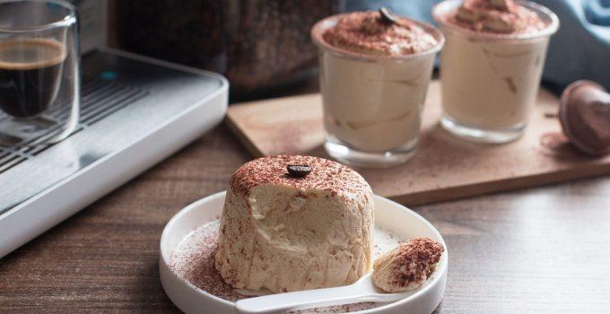 Dessert au café