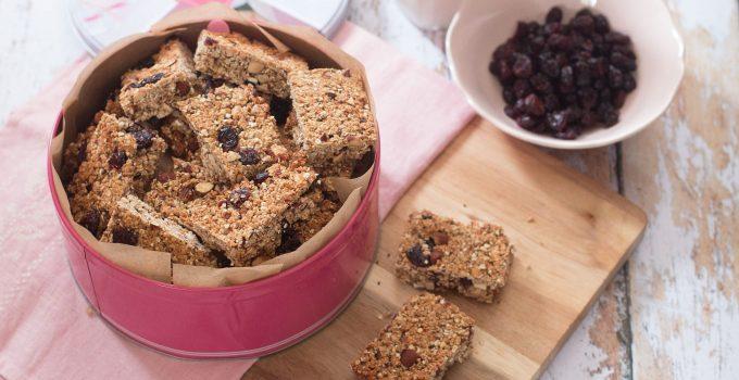 Barres de céréales… healthy !